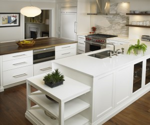 Quartz Kitchen Counter