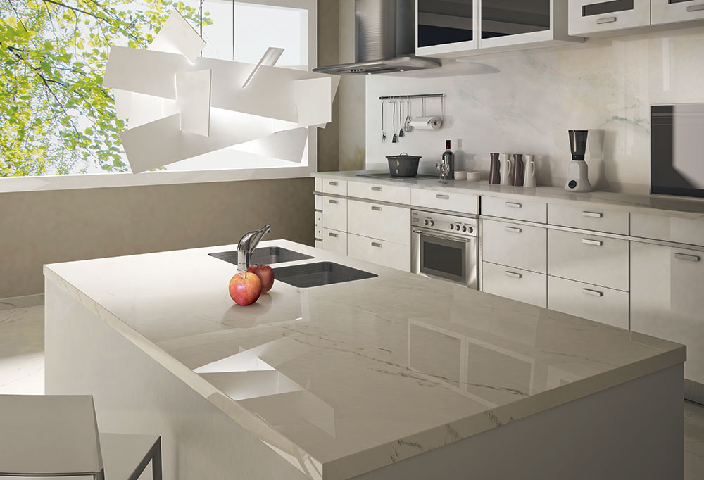 Porcelain kitchen countertops york fabrica toronto for Kitchen ideas with porcelain countertops