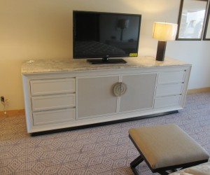 Marble TV Dresser/Stand